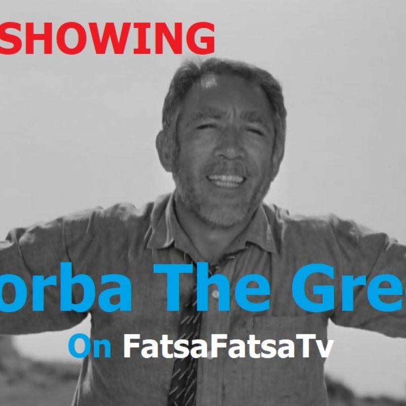 Zorba The Greek - Anthony Quinn