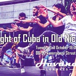 A Night of Cuba :Havana Londres presents